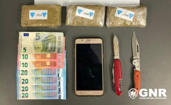 Detido em Gondomar com 600 doses de canábis