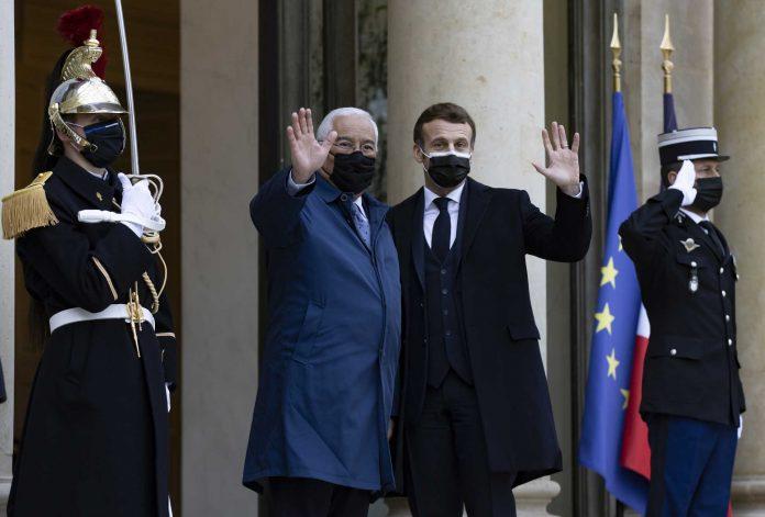 Macron testa positivo à Covid-19 e almoçou ontem com António Costa