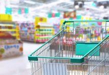 Famílias gastaram 809 milhões no supermercado em abril