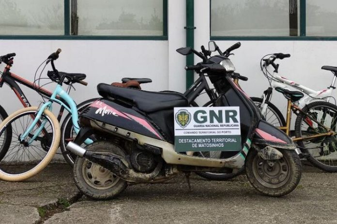 GNR desmantelou