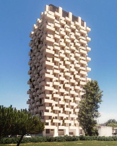 Leça da Palmeira vai ter mais uma torre de 21 andares