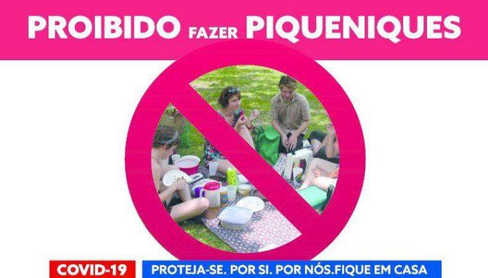Vila do Conde lembra que piqueniques estão proibidos