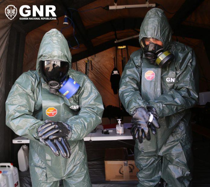 GNR já descontaminou cerca de 900 instalações