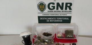 Detidos na Maia e no Porto com mais de 1 400 doses de estupefacientes