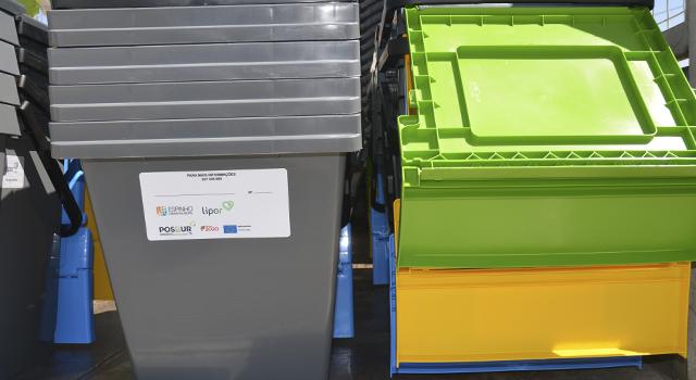 Espinho e a LIPOR dão mais um passo em frente na reciclagem