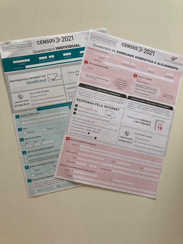 Mais de 80% dos alojamentos já responderam ao Censos 2021