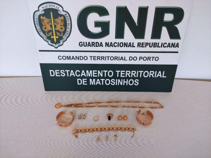 Recuperado no Porto e em Lisboa ouro furtado na Maia