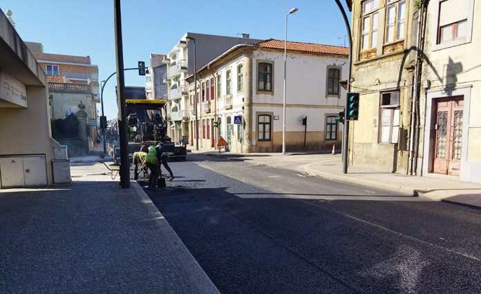 Obras na EN13 na Póvoa de Varzim prolongam-se durante o mês de junho