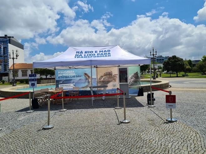 """Exposição Itinerante """"Há Rio e Mar, Há Lixo para Transformar"""" nos Municípios da LIPOR"""