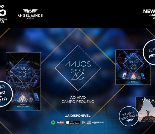 Sucessos dos Anjos lançado em disco ao vivo
