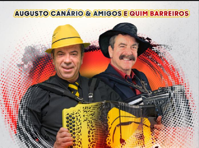 Augusto Canário & Amigos e Quim Barreiros juntos