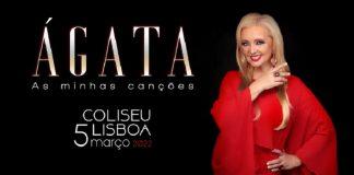 Ágata já reservou o Coliseu de Lisboa para Março