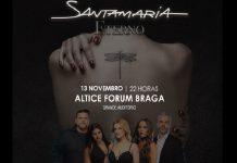 Santamaria no Altice Fórum Braga